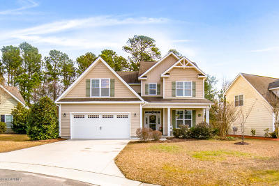 Wilmington NC Single Family Home For Sale: $314,900