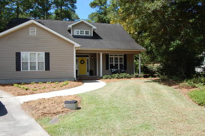 Morehead City Single Family Home For Sale: 218 Carefree Lane