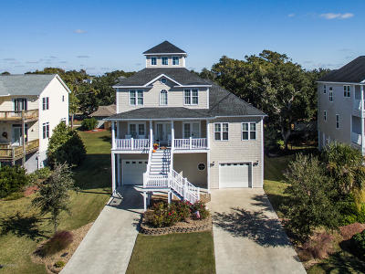 Harkers Island Single Family Home For Sale: 208 Branch Drive