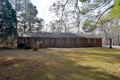 New Bern Single Family Home For Sale: 1415 Norwich Road
