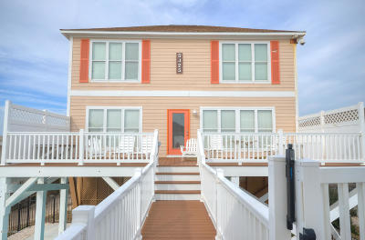 Oak Island Single Family Home For Sale: 5425 W Beach Drive