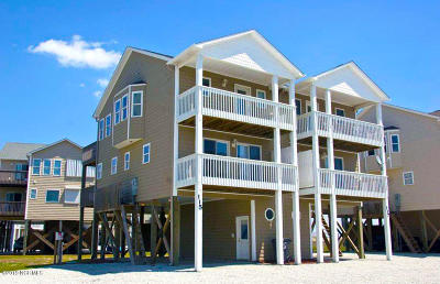 North Topsail Beach, Surf City, Topsail Beach Condo/Townhouse For Sale: 115 Volusia Drive