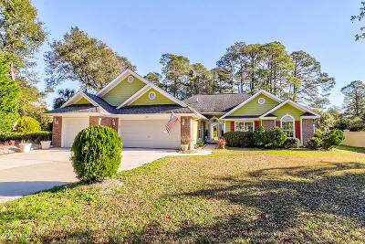 Ocean Isle Beach Single Family Home For Sale: 1896 Oak Harbour Drive SW