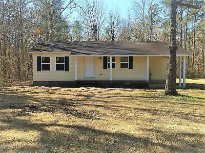 New Bern Single Family Home For Sale: 1205 SW Craven Middle School Road