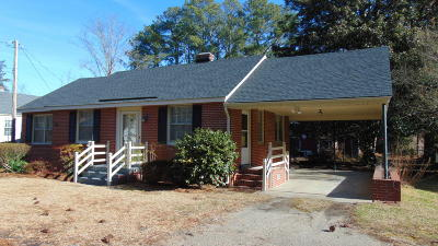 Rocky Mount Single Family Home For Sale: 324 Briarcliff Road