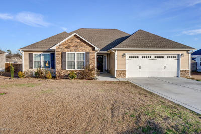 Richlands Single Family Home Active Contingent: 114 Prelude Drive