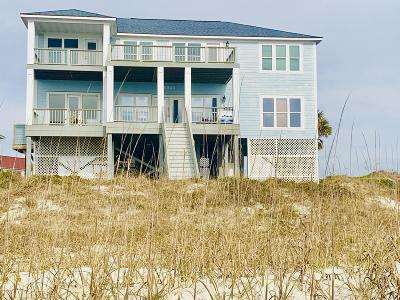 Oak Island Single Family Home For Sale: 6903 W Beach Drive