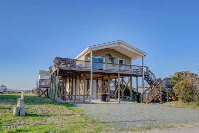 Topsail Beach Single Family Home For Sale: 1802 Ocean Boulevard