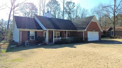 New Bern NC Single Family Home For Sale: $179,900
