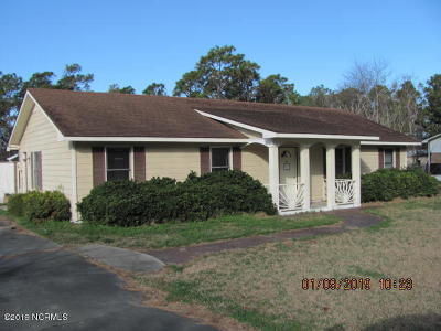 Newport NC Single Family Home For Sale: $103,900