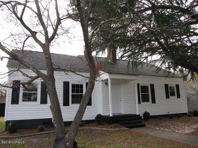 New Bern NC Single Family Home For Sale: $112,000