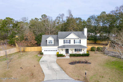 Onslow County Single Family Home For Sale: 114 Knotts Court