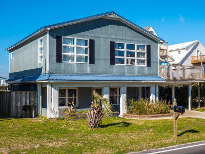 Topsail Beach Single Family Home For Sale: 1206 S Anderson Boulevard