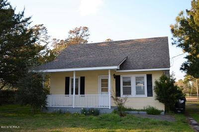 Beaufort NC Single Family Home For Sale: $125,000