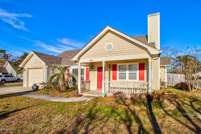 Wilmington NC Single Family Home For Sale: $195,000