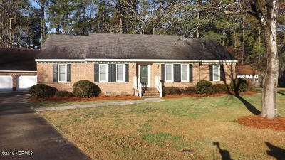 Rocky Mount Single Family Home For Sale: 1012 Brassfield Court