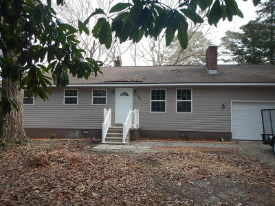 Havelock Single Family Home For Sale: 302 Railroad Street