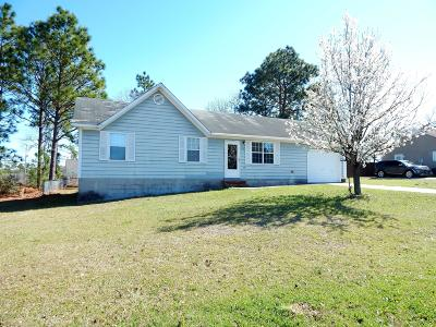 Hubert Single Family Home For Sale: 312 Cinnamon Drive