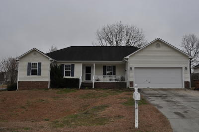 Onslow County Single Family Home For Sale: 107 Cobalt Stream Court