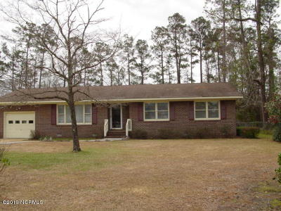 Wilmington NC Single Family Home For Sale: $189,900