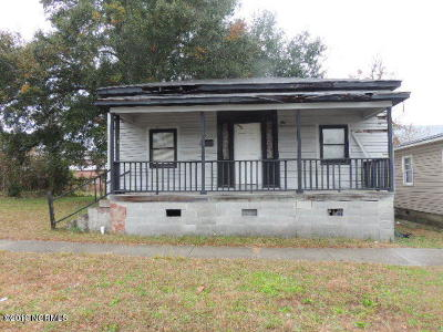 Wilmington NC Single Family Home Pending: $15,000