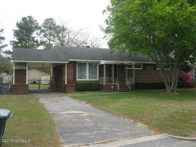 Edgecombe County Single Family Home For Sale: 1506 Bedford Road