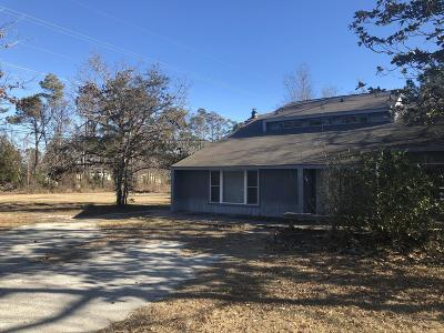Morehead City Single Family Home For Sale: 412 Friendly Road