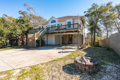 Emerald Isle Single Family Home For Sale: 7315 Archers Creek Drive