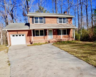 New Bern Single Family Home For Sale: 100 Little Rossie Road