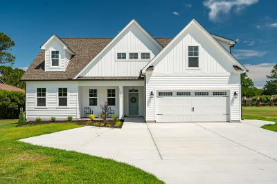 New Bern Single Family Home For Sale: 1200 Caracara Drive
