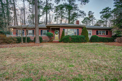 Rocky Mount Single Family Home For Sale: 3094 S Browntown Road