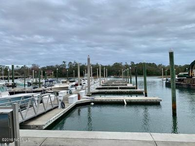 Wilmington Boat Slip For Sale: 6338 Oleander Drive #Pier 5-1