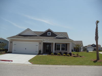 Ocean Isle Beach Single Family Home For Sale: 923 Teaticket Lane SW