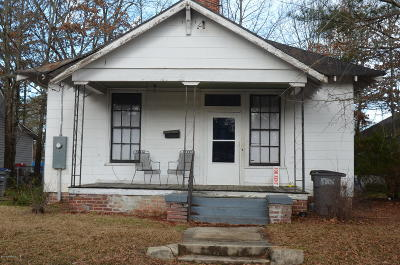 Edgecombe County Single Family Home For Sale: 748 Redgate Avenue
