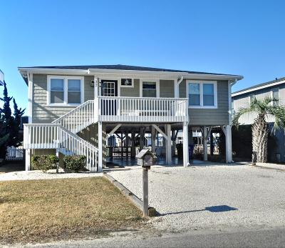 Ocean Isle Beach Single Family Home Pending: 37 Concord Street