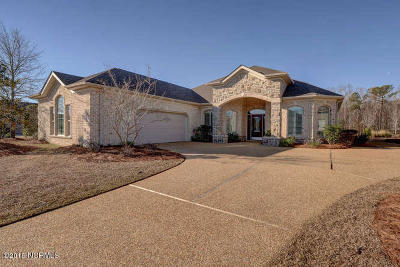 Leland Single Family Home For Sale: 1108 Leesburg Drive