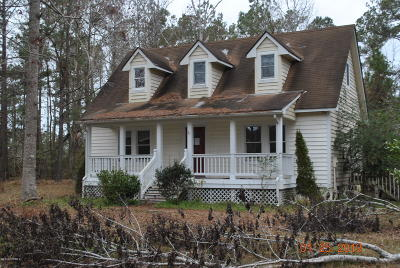 Swansboro Single Family Home Active Contingent: 167 Plantation Drive