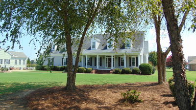 Rocky Mount Single Family Home For Sale: 6327 Waters Edge Drive