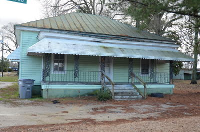 Rocky Mount Single Family Home For Sale: 2923 S Church Street