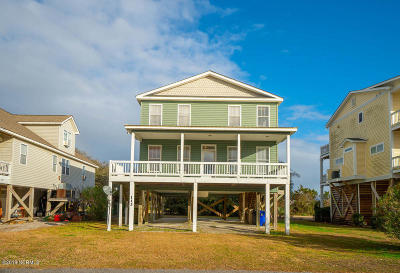 Oak Island NC Single Family Home For Sale: $539,900