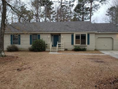 Morehead City Single Family Home For Sale: 705 Hedrick Boulevard