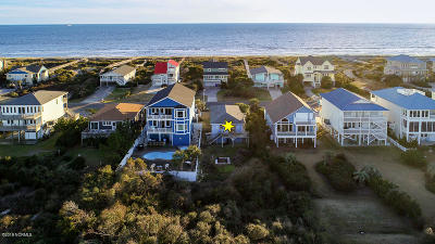 Single Family Home For Sale: 432 Caswell Beach Road