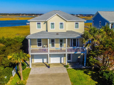 Oak Island Single Family Home Pending: 6634 Kings Lynn Drive