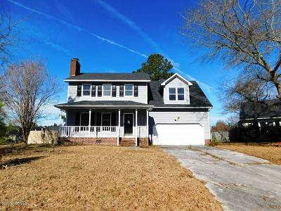 Jacksonville NC Single Family Home Active Contingent: $135,000