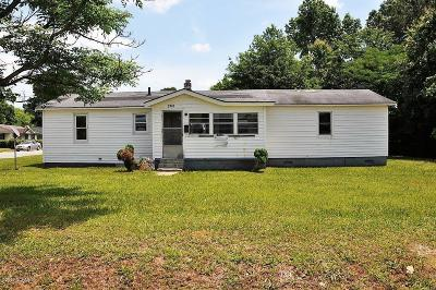 Farmville Single Family Home For Sale: 3741 Wright Drive