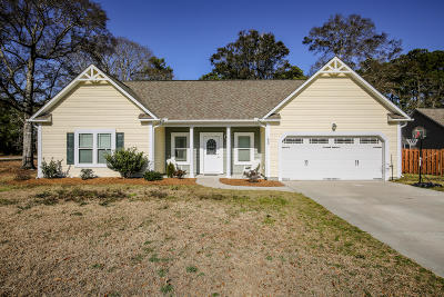 Sneads Ferry Single Family Home For Sale: 203 Anchor Lane