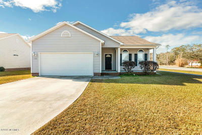 Swansboro Single Family Home For Sale: 100 Borough Nest Drive