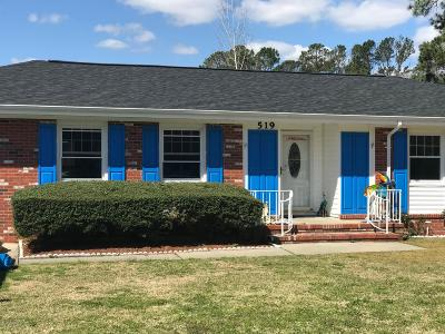 Jacksonville Single Family Home For Sale: 519 Winchester Road