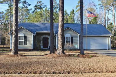 Oriental Single Family Home For Sale: 2010 Yawl Place