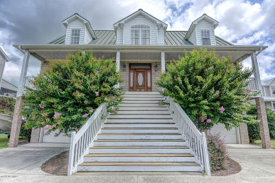 Sneads Ferry Single Family Home For Sale: 206 Shell Drive